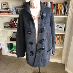 Lord and Taylor wool toggle coat